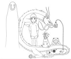 luxury spirited away coloring pages 72 with additional free
