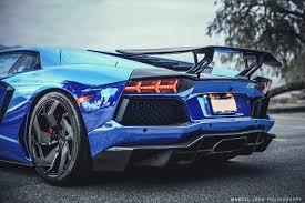 lamborghini aventador blue chrome blue lamborghini aventador rear details sssupersports