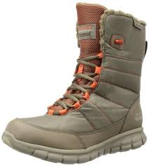 womens winter boots amazon canada skechers synergy friction womens waterproof boots taupe