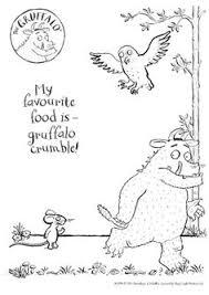 gruffalo homeschool book activities