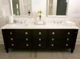 Tara Fingold Decorpadcom Modern Black Bathroom Design With - Black bathroom vanity and sink