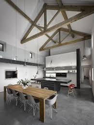 kitchen and dining room open floor plan interior design medium size modern rustic open floor plan kitchen