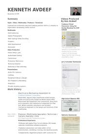 Electronic Assembler Resume Sample by Mechanic Resume Samples Visualcv Resume Samples Database
