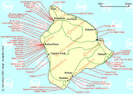 map of hawaii big island hawaii island surfing in hawaii island united states of america