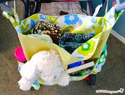 diy stroller bag made by marzipan