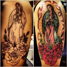 before after guadalupe tattoos golfian com