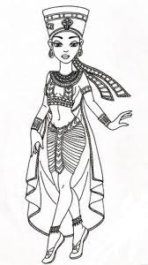 queen nefertari tattoo i love the art style of mashi on deviantart egyptian joy