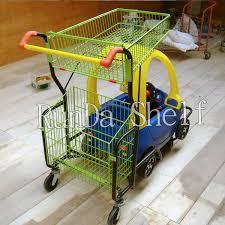siege de caddie enfants caddie avec jouet de siège de voiture panier chariot de