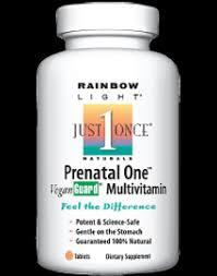 Prenatal One Rainbow Light Top 10 Prenatal Vitamin Brands Best Prenatal Vitamin Better