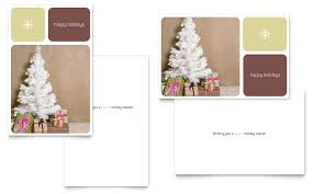 indesign template greeting card christmas card publisher template etame mibawa co