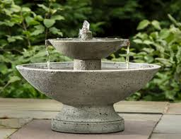 Patio Fountains Diy by Diy Water Fountains Outdoor Style Pixelmari Com