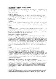 Retail Assistant Resume Example Retail Job Cv Cbshow Co