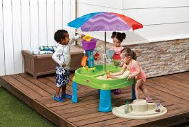 paw patrol adventure bay play table step2 splash and scoop bay with umbrella play table walmart canada