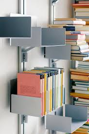 totem at wall book storage wall shelves from aico design