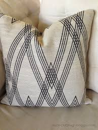 inside out design a pillow cover made with nate berkus fabric