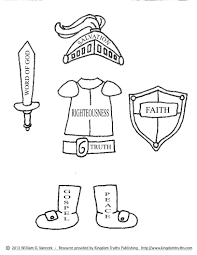 armor of god coloring pages pictures imagixs http www