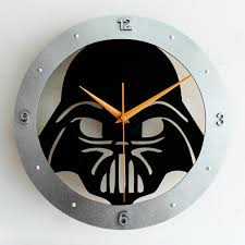 popular star wars clock wall buy cheap star wars clock wall lots