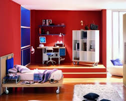 red feature wall bedroom what goes well with color curtains go