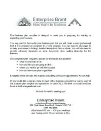 printable free business plan template word edit fill out