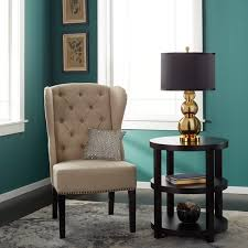 Teal Accent Table Abbyson Morgan Round Accent Table Free Shipping Today