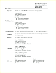 resume template printable free printable blank resume free printable resume template best of