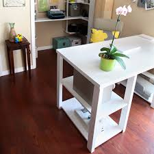 Diy Door Desk Diy Hollow Door Desk Diy Craft