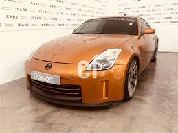 orange nissan 350z used nissan 350z cars spain