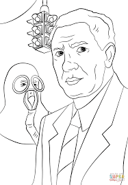 garrett morgan coloring page free printable coloring pages