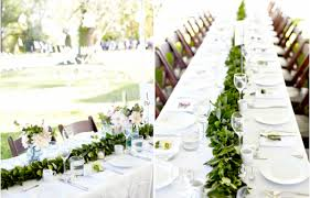 Leaf Table Runner Inspiration Merriment Events Wedding Planning U0026 Design Based In