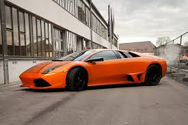 lamborghini murcielago ride on car rides a lamborghini murcielago with bmx bicycle thrillist