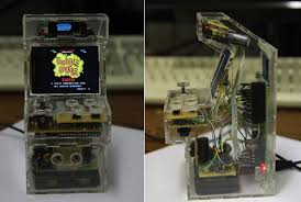 raspberry pi mame cabinet tiny raspberry pi arcade cabinet is tiny doesn t try to