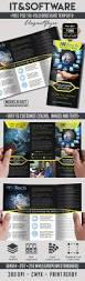 it u0026software u2013 free psd tri fold psd brochure template u2013 by