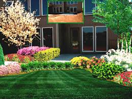 garden and patio narrow side landscaping ideas around house yard