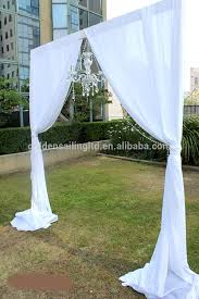wedding backdrop equipment outdoor event wedding aluminum backdrop stand pipe drape for trade