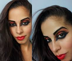 halloween devil makeup tutorial youtube