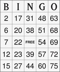 printable bingo cards gameshacksfree