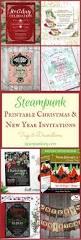 printable christmas u0026 new year invitations tags u0026 decorations