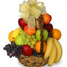basket of fruit classic fruit basket gift basket lulu s flowers
