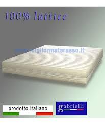 miglior materasso in lattice il materasso in lattice matrimoniale migliore gabrielli