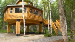 treehouse homes for sale secluded house near caribou lake buying alaska pinterest house