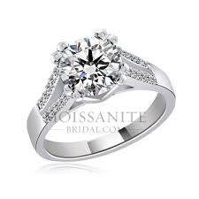 2ct engagement rings 2 ct center moissanite engagement ring moissanitebridal