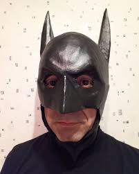 how to make a mask for halloween duct tape batman mask 4 steps with pictures