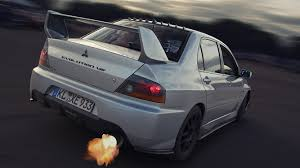 mitsubishi cars white photos mitsubishi lancer evolution 8 white back view 1334x750