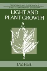 light and plant growth light and plant growth j w hart springer
