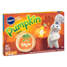 pillsbury pumpkin shape sugar cookies 11oz target