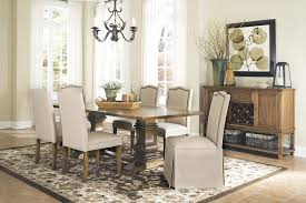 Transitional Dining Room Sets Dining Table Set With Parson Chairs Orange County Dining Table