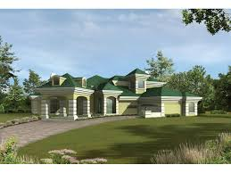 Cottage House Plans With Porte Cochere by Royalspring Modern Sunbelt Home Plan 048d 0007 House Plans And More