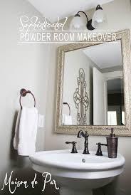 powder room makeover lightandwiregallery com