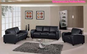 Large Black Leather Sofa Bathroom Design Cow Genuine Leather Sofa Set Living Room