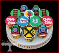 Thomas And Friends Decorations For Bedroom Details About 24 X 4cm Thomas The Tank Engine Edible Cupcake